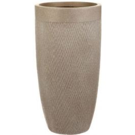 Кашпо Лотус Высокое Круглое, 38х72 см, серо-коричневое MESHV38-T IDEALIST