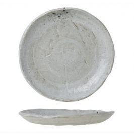 Тарелка Dolmen, 20 см, серая 6624020 Roomers