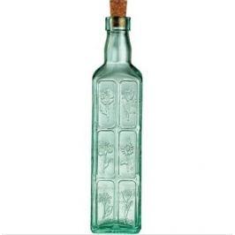 Бутылка для масла с пробкой Country Home Fiori (500 мл) 630230M04221990 Bormioli Rocco