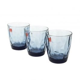 Набор стаканов низких Diamond Ocean Blue (305 мл), 3 шт 350220Q02021990 Bormioli Rocco