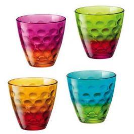Набор стаканов Dots (250 мл), 4 шт 327500JA9021328 Bormioli Rocco