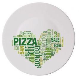 Блюдо для пиццы Ronda I Love Pizza Green, 33 см 419320F77321752 Bormioli Rocco