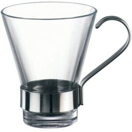 Набор чашек с металлической ручкой Ypsilon (110 мл), 6 шт 340320B32321990 Bormioli Rocco