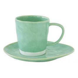 Чашка Interiors (250 мл), с блюдцем, мятная EL-R2016_INTA Easy Life (R2S)