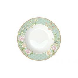 Тарелка суповая Дворцовый парк, 22.5 см, салатовая EL-R1360_PALA Easy Life (R2S)
