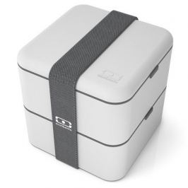 Ланч-бокс MB Square (1.7 л), 14.8х14.3х14.3 см, светло-серый 1200 13 110 Monbento