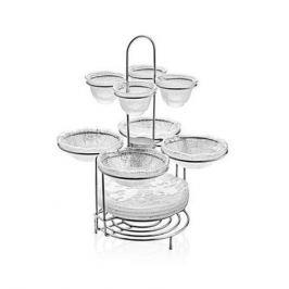Набор посуды на подставке Diamante, 13 пр. 6624.1 IVV