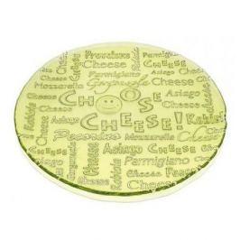 Блюдо Everyday-I choose cheese, 32.5 см, зеленое 7456.1 IVV
