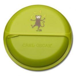 Ланч-бокс для перекусов SnackDISC Monkey, лайм 108401 Carl Oscar