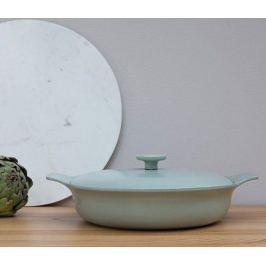 Сотейник чугунный Ron (3.3 л), 28 см, зеленый 3900043 BergHOFF