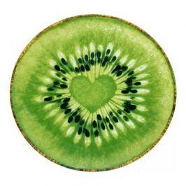 Блюдо сервировочное Kiwi, 25 см, зеленое W22152525 Walmer
