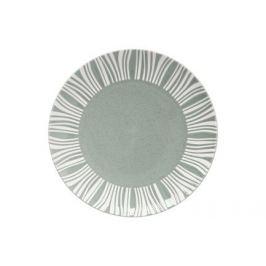 Тарелка обеденная Solaris, 27.5 см, серо-зеленая MW602-AX0316 Maxwell & Williams