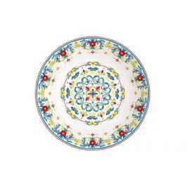 Тарелка суповая Средиземноморье, 20.5 см EL-R0914_MEBL Easy Life (R2S)