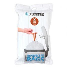 Пакет пластиковый X (10-12 л), 40 шт 116841 Brabantia