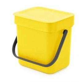 Ведро для мусора Sort&Go (3 л), желтое 209840 Brabantia