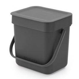 Ведро для мусора Sort&Go (3 л), серое 209888 Brabantia