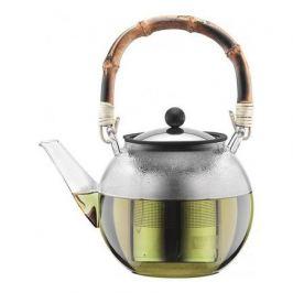 Чайник заварочный Assam (1 л), с бамбуковой ручкой, с фильтром 11806-139 Bodum