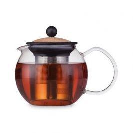 Чайник заварочный Assam с фильтром (0.5 л), пробковый 1807-109S Bodum