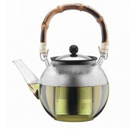 Чайник заварочный Assam (1.5 л), с бамбуковой ручкой 11797-139 Bodum