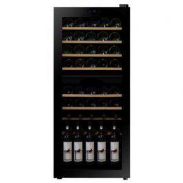 Винный шкаф (128 л), на 46 бутылок, черный DX-46.128DK Dunavox