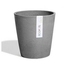 Кашпо Morinda Орхид, 14х16 см, серое 74.011.14G ECOPOTS