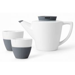 Чайный набор Infusion, 3 пр., серый V24133 Viva Scandinavia
