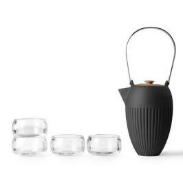 Чайный набор Senses, 5 пр., антрацит V78901 Viva Scandinavia