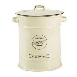 Емкость для хранения печенья Pride of Place Old Cream, 16х21.5 см, бежевая 10525 T&G