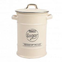 Емкость для хранения сахара Pride of Place Old Cream, 11.5х18 см, бежевая 10516 T&G