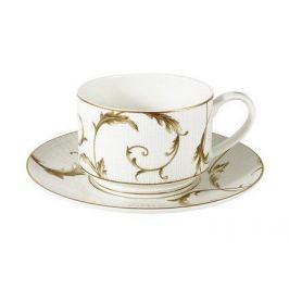 Чашка Элегия Голд (0.2 л) с блюдцем, 2 пр. AL-M1928_CS-E9 Anna Lafarg