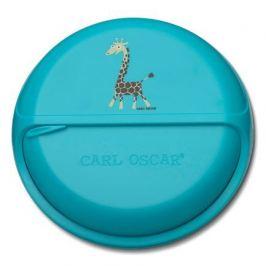 Ланч-бокс для перекусов SnackDISC Spider Giraffe, бирюзовый 108403 Carl Oscar