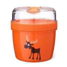 Ланч-бокс с охлаждающим элементом N'ice Cup Moose, оранжевый 108507 Carl Oscar
