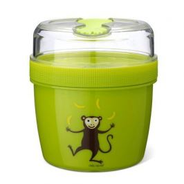 Ланч-бокс с охлаждающим элементом N'ice Cup Monkey, лайм 108501 Carl Oscar