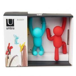 Вешалки-крючки Buddy, 3 шт., разноцветные яркие 318165-022 Umbra