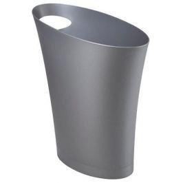 Контейнер мусорный Skinny, 34х17х33 см, серебристый 082610-560 Umbra