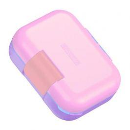 Ланч-бокс Neat Bento малый, 18.7х15х7.1 см, розовый ZK312-PK Zoku