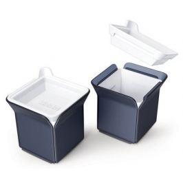 Набор форм для льда Cube, 9.4х9.4х7.2 см, 2 шт, черный ZK153 Zoku