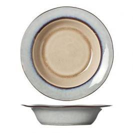 Тарелка глубокая Castora&Pollux, 21.5 см, серо-коричневая 4870522 Roomers