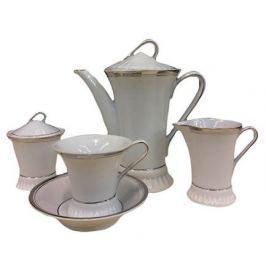 Чайный сервиз Byzantium White Platina, 15 предметов на 6 персон (2396), в подарочной упаковке 57160725-2396k Rudolf Kampf