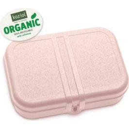 Ланч-бокс Pascal L Organic, 6.7x23.3x17 см, розовый 3152669 Koziol