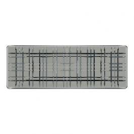 Блюдо прямоугольное Square, 42х15 см, серое 101453 Nachtmann