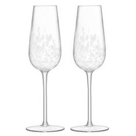 Набор фужров для шампанского Stipple (250 мл), 2 шт G1332-09-602 LSA International