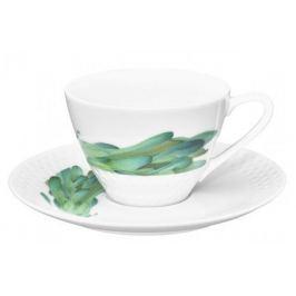 Чашка чайная с блюдцем Овощной букет. Горчица (210 мл) NOR1620-Q012WA17-6 Noritake