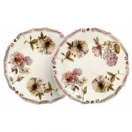 Набор десертных тарелок Сады Флоренции, 20.5 см, 2 шт. LCS053PF-BO-AL LCS