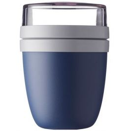 Ланч-бокс двухкамерный Yoghurtbeker, темно-синий MEP-76480-16800 Mepal