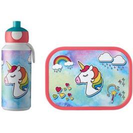 Набор детский ланч-бокс и бутылка для воды Campus (pu+lb), единорог, 2 пр MEP-74101-65377 Mepal