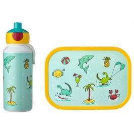 Набор детский ланч-бокс и бутылка для воды Campus (pu+lb), акула, 2 пр MEP-74101-65380 Mepal