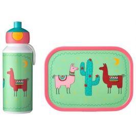 Набор детский ланч-бокс и бутылка для воды Campus (pu+lb), лама, 2 пр MEP-74101-65379 Mepal