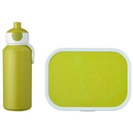 Набор детский ланч-бокс и бутылка для воды Campus (pu+lb), лайм, 2 пр MEP-74101-90500 Mepal