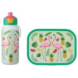 Набор детский ланч-бокс и бутылка для воды Campus (pu+lb), фламинго, 2 пр MEP-74101-65374 Mepal